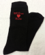 LADIES PERSONALISED SOCKS - Personalise with 2 names with a heart in the middle